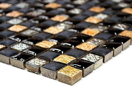 Lampada a mosaico mosaico piastrelle di rete quadrato resina