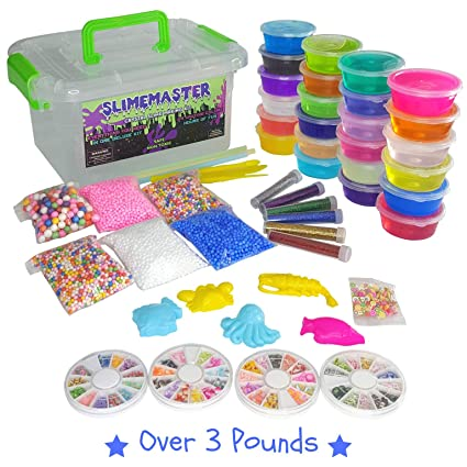 e0c7fce14 DIY Crystal Slime Making Kit - Super Slime in 24 Colors - Big Kids Craft Kit