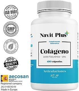 Colágeno con Magnesio y Ácido Hialurónico | Zinc y Vitamina ...