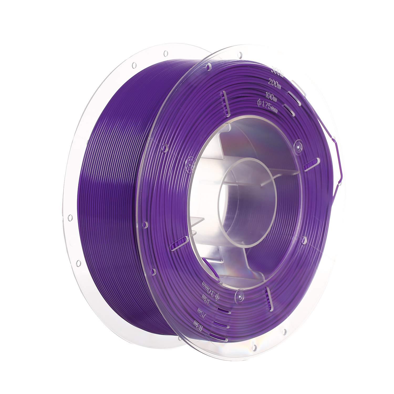 Dimensional Accuracy +//- 0.02mm 1KG Spool Dark Purple PETG 2.2 LBS SainSmart PRO-3 Tangle-Free Premium 1.75mm PETG 3D Printer Filament