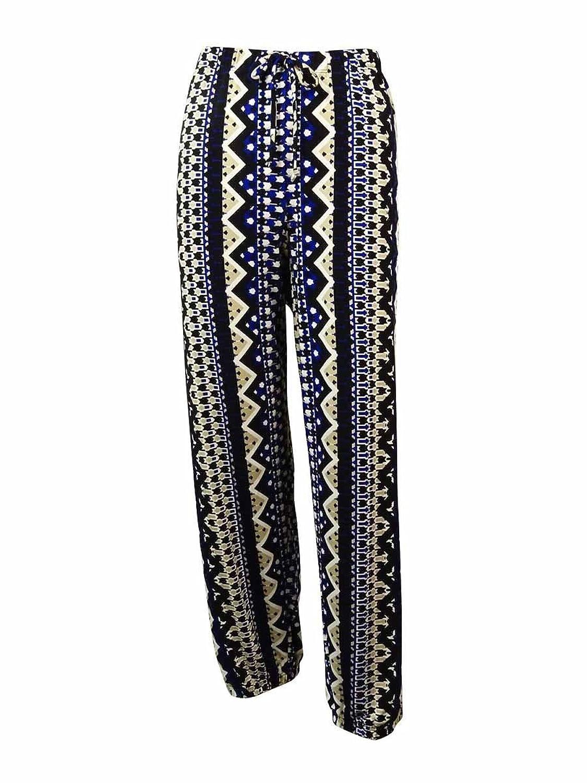 Alfani Women's Printed Jersey Knit Jogger Pants