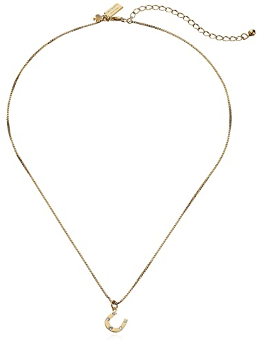 Amazon kate spade new york horseshoe pendant necklace 17 3 kate spade new york horseshoe pendant necklace 17quot 3quot extender aloadofball Image collections