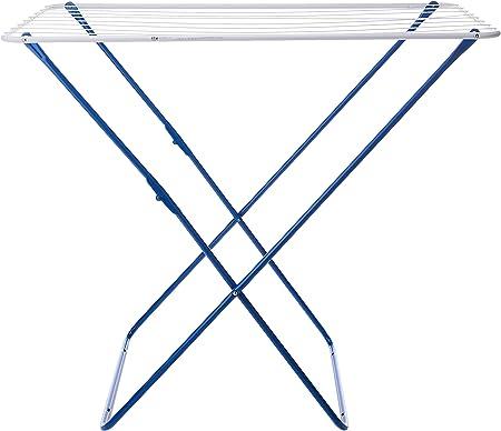 Gimi Plast Tendedero de pie de acero 10 m de longitud de tendido