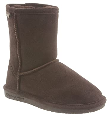 da640370ab79 Amazon.com  BEARPAW Emma Youth Mid Calf Boot  Shoes