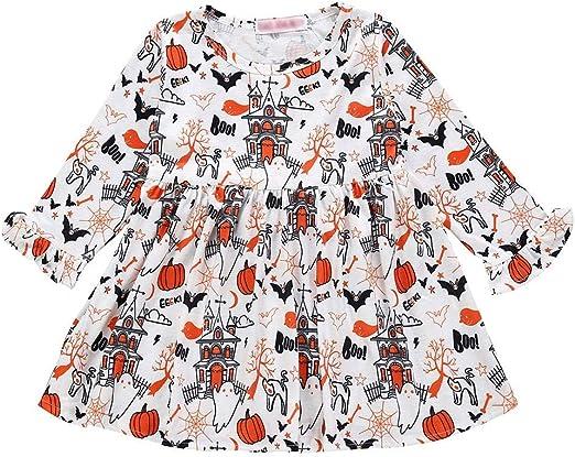 Disfraz de Calabaza de Halloween para niños y bebés, Manga Larga ...