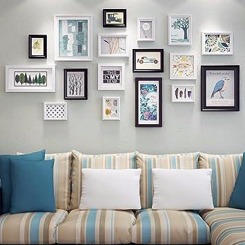 WUXK Foto Wand Dekor modernes, minimalistisches Wohnzimmer ...