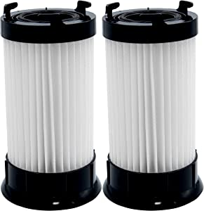 Replacement 2 Pack Vacuum Filter for Eureka DCF-4, DCF-18, Compatible with Part # 63073C, 62132, 63073, 3690, 18505 Models 4704BLM, 4702A, 4704BLU, 4704FRD, 4704LMP, 4704LTA 4704ONG, 4704PNK, 4704PUR