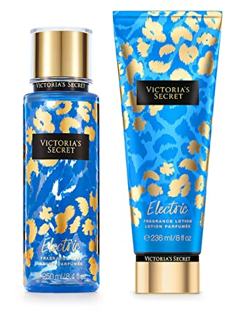 Victorias Secret Electric Fragrance Mist and Body Lotion Set