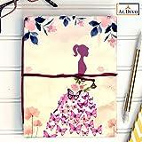 ALDIVO Handmade Diary / Handmade Notebook (12.7cm X 17.78 cm) (Girl)