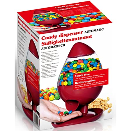 automatic touch free sensor jelly beans smarties gumball candy