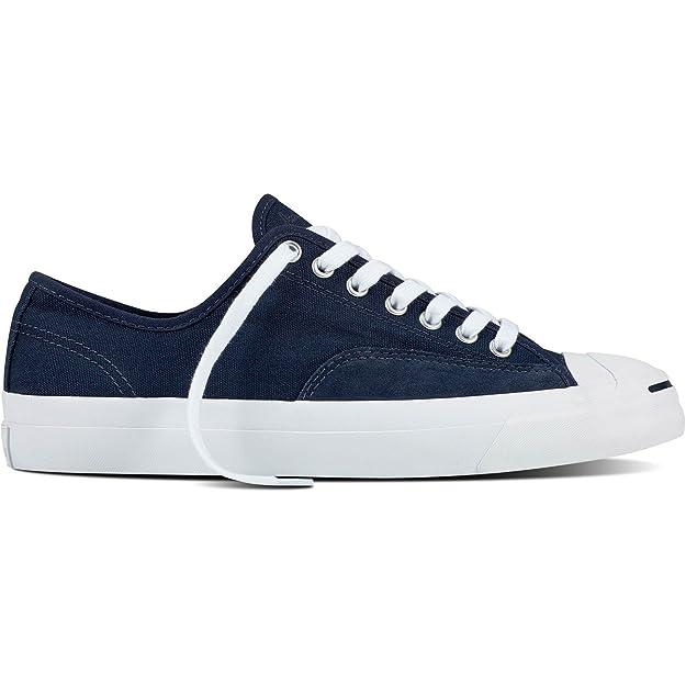 cb29d66060 Converse Jack Purcell Pro Ox (Obsidian/Obsidian/White) Men's Skate Shoes  Blue Size: 9.5 D(M) US: Amazon.co.uk: Shoes & Bags