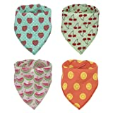Baby Bandana Drool Bibs, Good for Drooling and