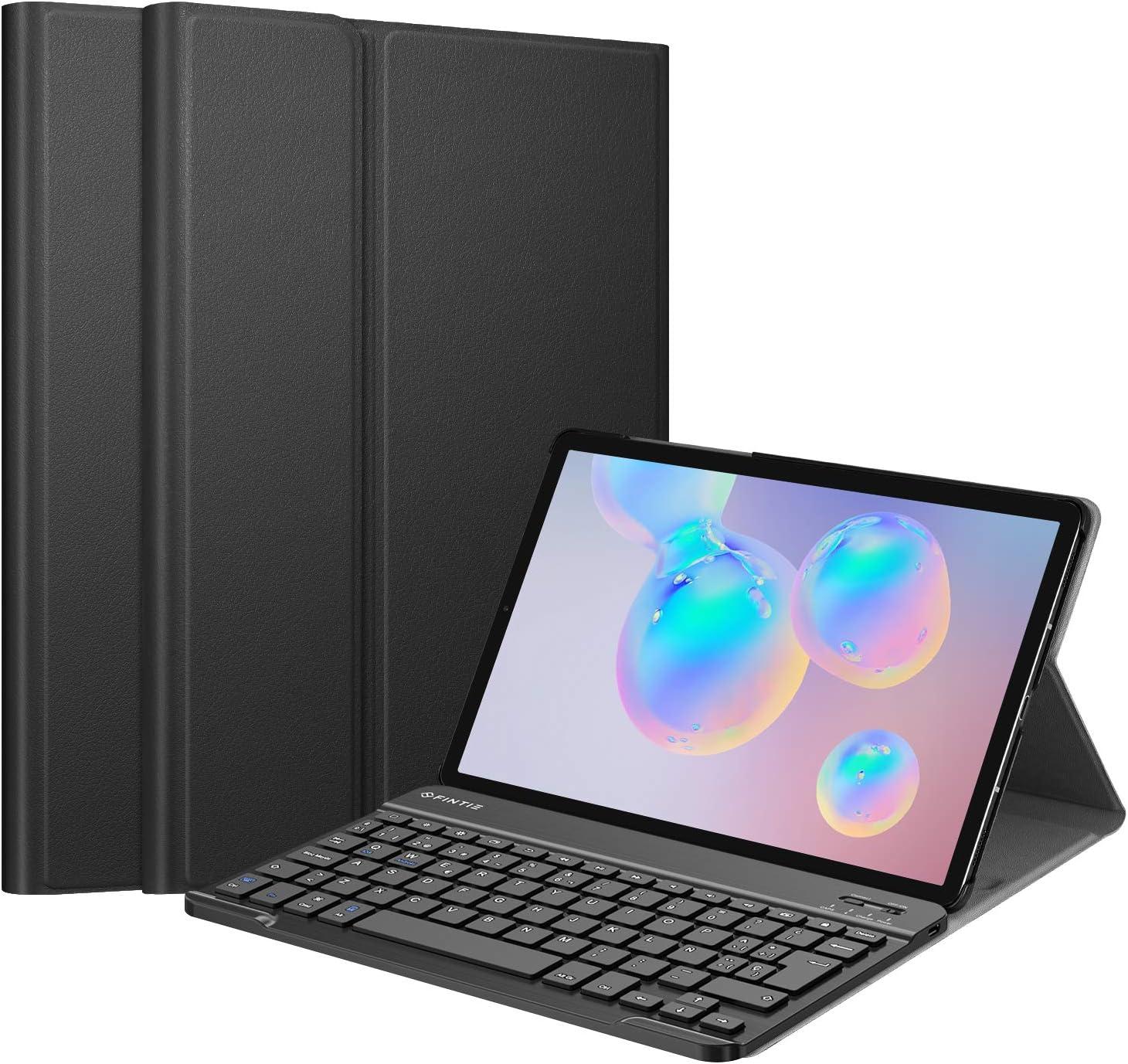 Fintie Funda con Teclado Español Ñ para Samsung Galaxy Tab S6 10.5