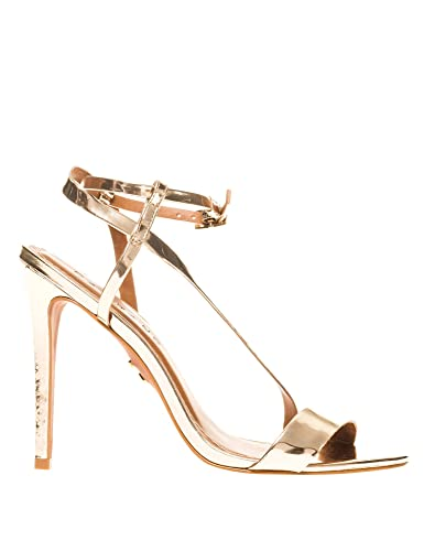 acceedf9bd0 CARRANO BRASIL Women s Spechio Heeled Sandals in Gold in Size US 7.5