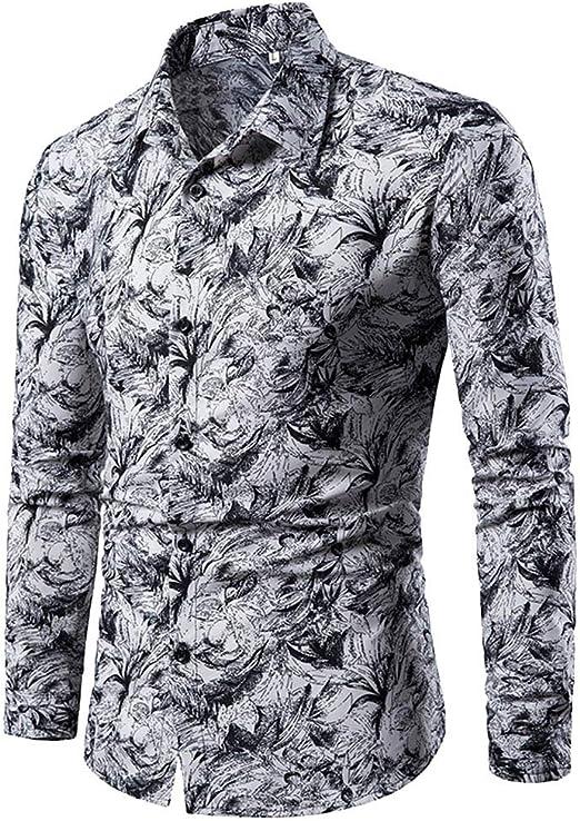 Cotone Manica Lunga Maglietta LandFox V-Collo Retro Tinta Unita Slim Fit Cotone T-Shirt Maglietta Uomo Maglia da Uomo Morbido Cotone con Maniche Lunghe Uomo Estate Casual Tops 4