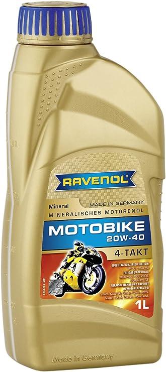 Ravenol Motobike 4 T Mineral Sae 20w 40 Auto