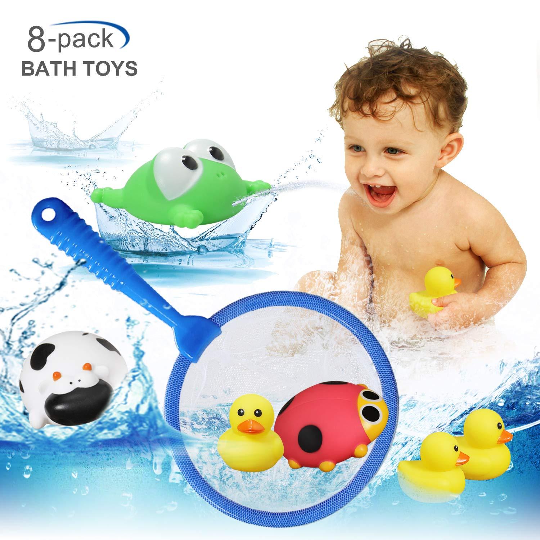 Amazon.com: HOMOFY Baby Toys Bath Toys,Bathtub Floating Toy-Fishing ...