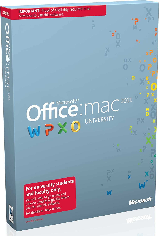 Microsoft Office Mac University 2011 [Old Version]