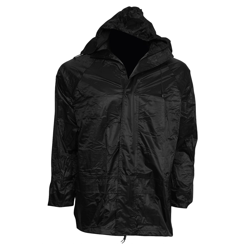 Homme Textiles Universels Veste de pluie imperm/éable /à capuche