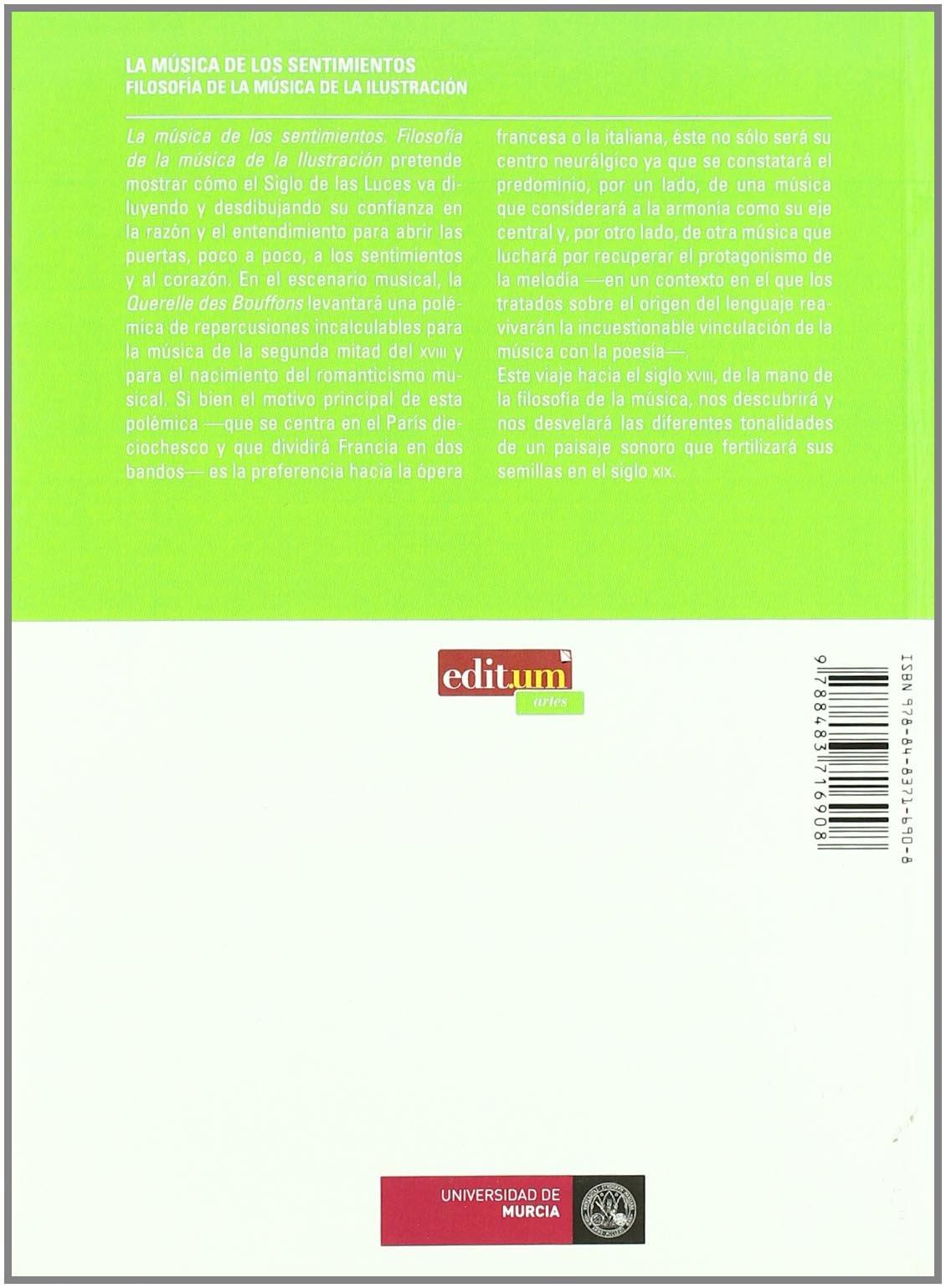 La Música de los Sentimientos 2ª Edición: Filosofía de la música ...