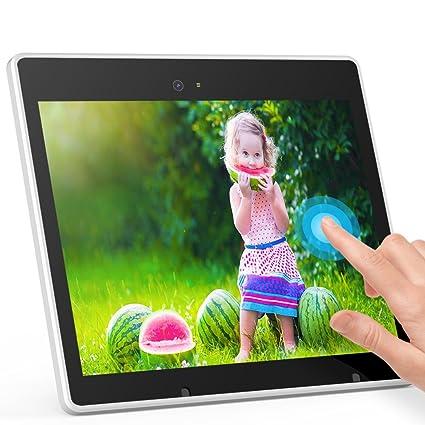 Amazon.com : Digital Photo Frame, iHoment Wi-Fi 10 Inch IPS Touch ...