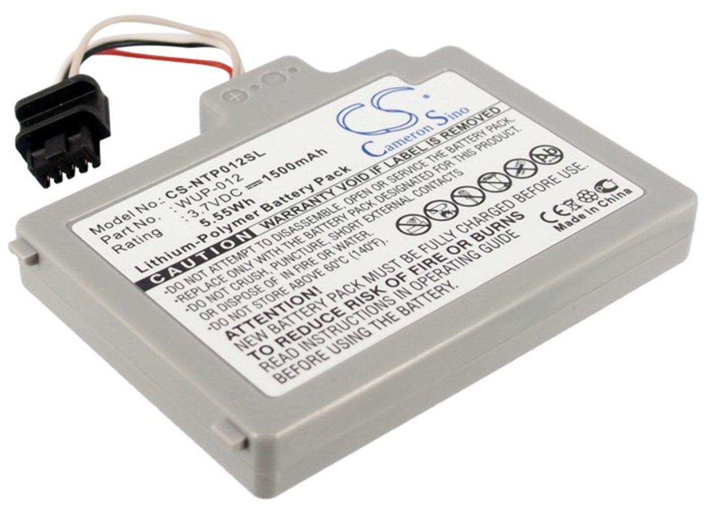 Battery2go Li-ion BATTERY Pack Fits Ninetendo WUP-012, WUP-010, Wii U, Wii U GamePad