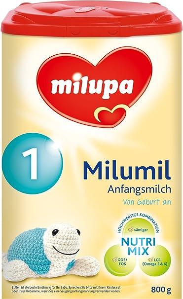 milupa milumil 1 principio Leche, de 0 a, 4 unidades (4 x 800
