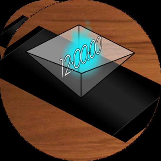 Hologram Clock