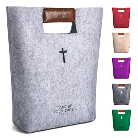 Amazon.com: Bolsa de la Biblia grande para niños con asas de ...
