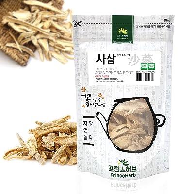 [Medicinal Korean Herb] Adenophora Root (Lady Bell/Fahei/사삼) Dried Bulk Herbs 4 oz (113 g) : Garden & Outdoor