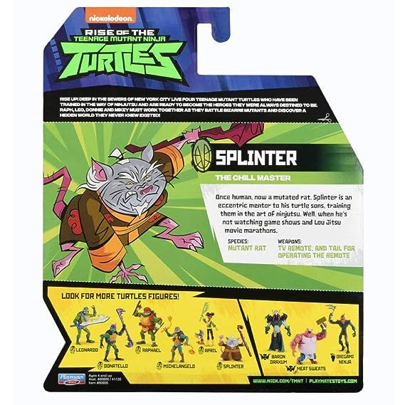 Teenage Mutant Ninja Turtles TUAB0500 Splinter Sensei Master ...