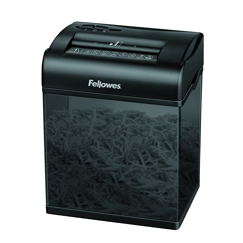 Fellowes Shredmate kleiner Cross Cut Aktenvernichter für Zuhause, 4 Blatt (P-4), vernichtet auch Kreditkarten und Heftklammern 3700501