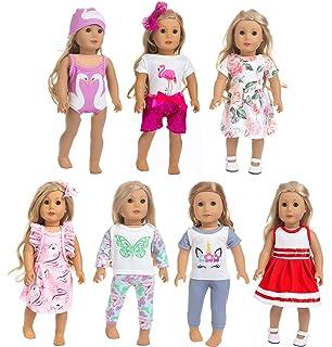 "SUMMER LOT 2 SKIRT /& PANTY SOCKS FITS 18/"" AMERICAN GIRL DOLL l or similar Dolls"