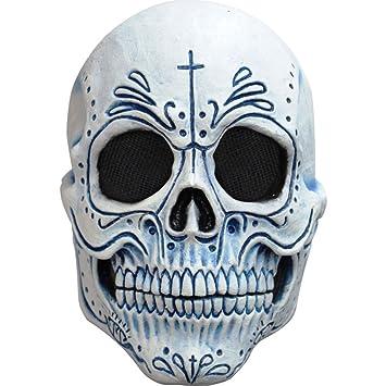 Máscara de esqueleto muerte mexicana para adulto