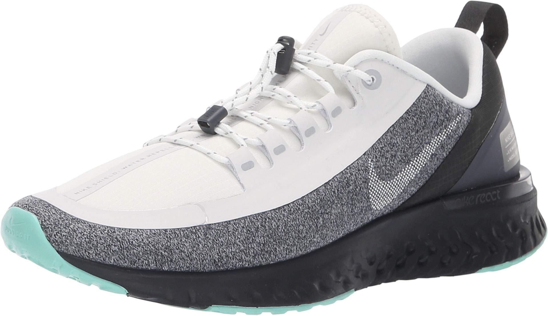 on sale 7dec6 ceeed Nike Women Odyssey React Shield Running Shoe White/Black/Green (US 9.5)