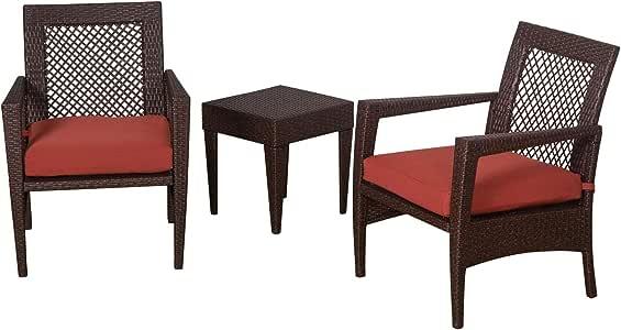 Amazon.com: Auro Brisbane Outdoor Furniture   3 Piece ...