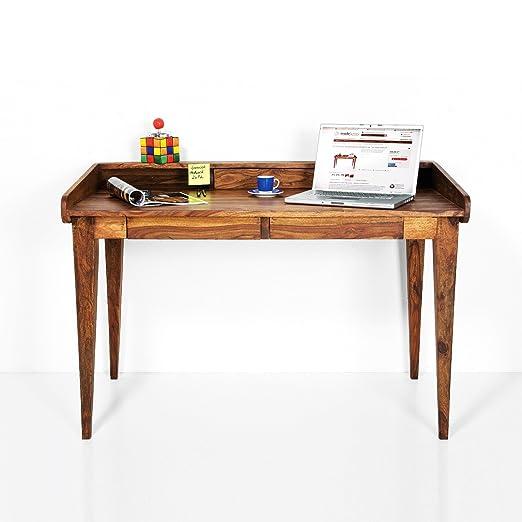 DESIGN DELIGHTS Diseño Muebles de Madera Mesa Escritorio Mesa ...
