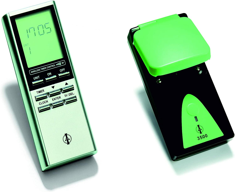 SKS24 - Enchufe para exteriores con mando a distancia y temporizador