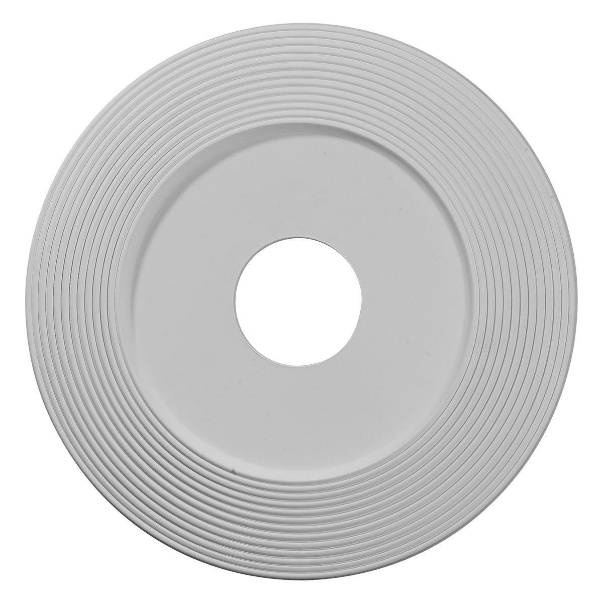 Ekena Millwork CM16AD 16 1/8-Inch OD x 3 5/8-Inch ID x 1-Inch Adonis Ceiling Medallion