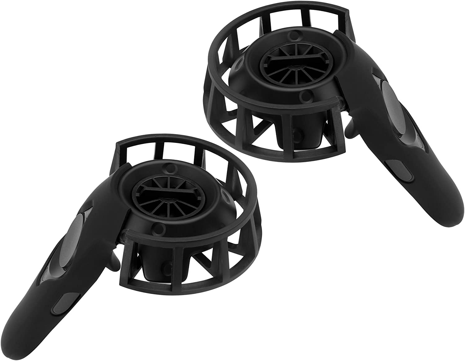 2 Packs Protective Frame and Silicon Protective Case for HTC Vive/Vive Pro Controllers MDW