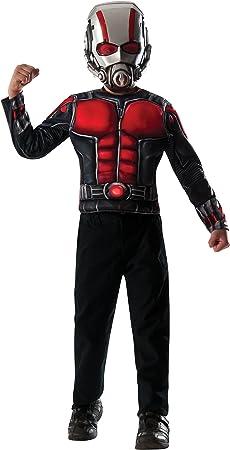Rubies Kit Disfraz de Ant-Man musculoso para niño: Amazon.es ...