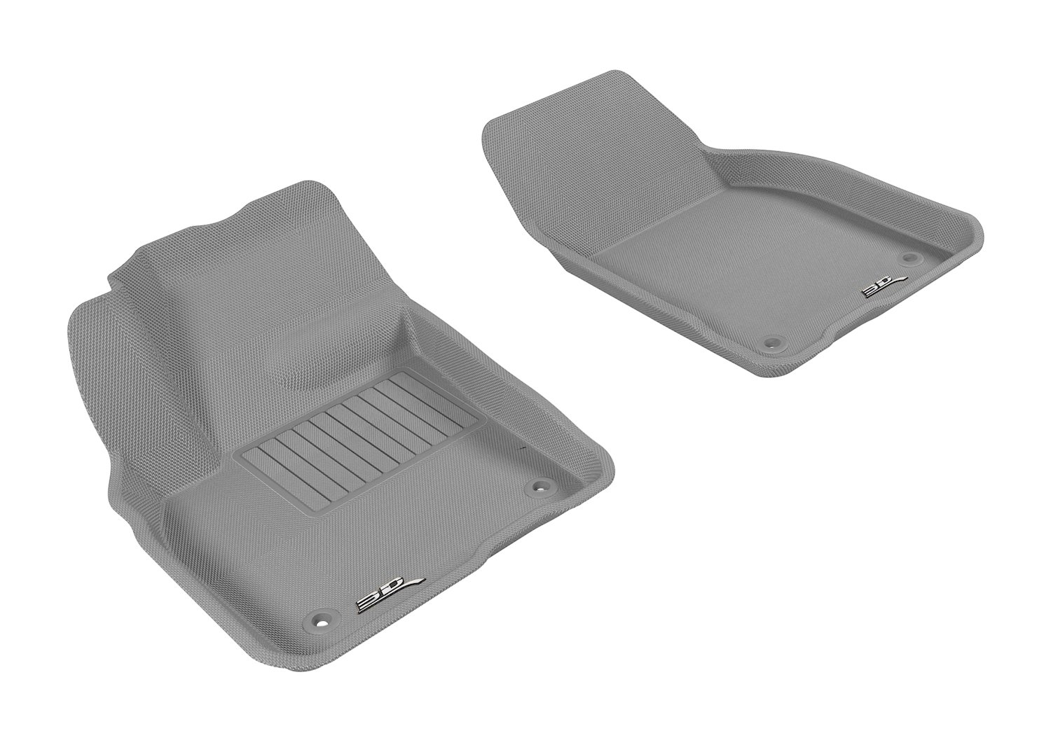 Gray M1VV0071301 Kagu Rubber 3D MAXpider Custom Fit All-Weather Cargo Liner for Select Volvo C30 Models