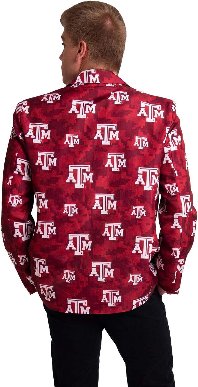 FOCO NCAA mens Digital Camo Party Business Suit Jacket
