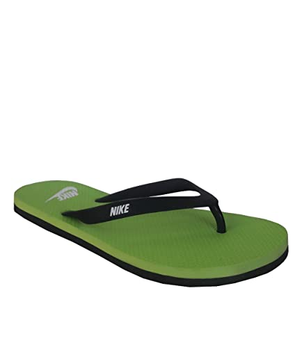 2fc00c90cfa Nike Aquaswift Thong Black White - Electric Green Slippers  Buy Online at  Low Prices in India - Amazon.in