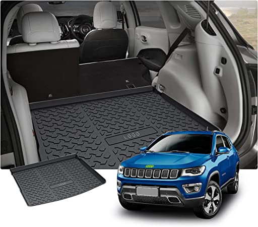 TAILORED RUBBER BOOT LINER MAT TRAY Jeep Compass II MP//552 since 2017 lower trun