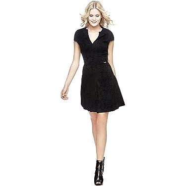 boutique officielle élégant et gracieux Achat Robe Guess Pauline Noir Taille XL: Amazon.co.uk: Clothing