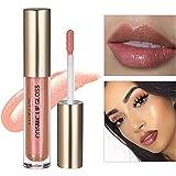 SACE LADY Magnificent Metals Liquid Lipstick, Sheer Natural Moisturizing Silk Shimmer Luminizer Cosmic Lip Gloss, 3.5ml