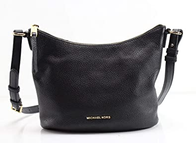 1f4112f7abd2 Amazon.com  MICHAEL Michael Kors Lupita Medium Leather Messenger Bag ...