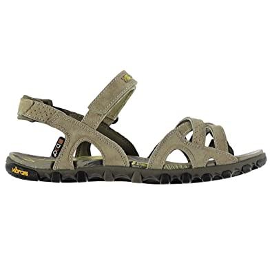 1a6dbcb8a Karrimor Womens Barbuda Sandals Shoes Touch and Close Lightweight Vibram  Brown UK 6 (39)  Amazon.co.uk  Shoes   Bags