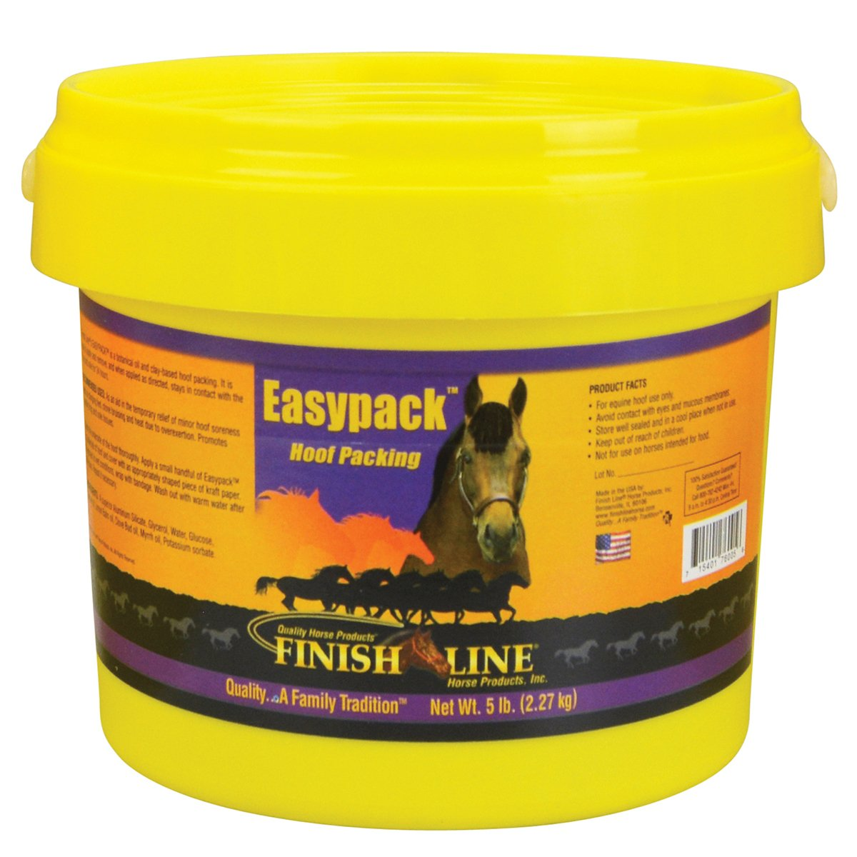 Finish Line Easypack Hoof Packing 24 lb by Finish Line